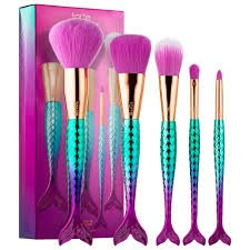 TARTE Minutes to Mermaid Brush Set - Be A Mermaid & Make Waves Collection by Tarte (Tarte Make-up-set)