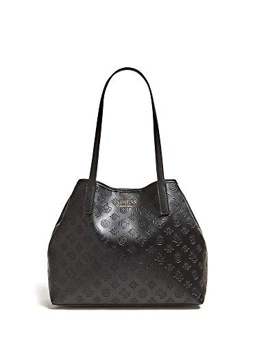 Guess VIKKY LARGE TOTE BLA BLACK