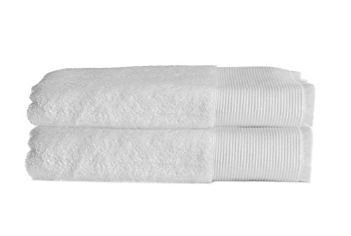 Bianco asciugamani da bagno mani tappetino da bagno white 2x