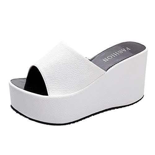 Pantofole Donna Estive Eleganti Ciabatte Con Zeppa Tacco Vintage Moda Bohemian Sandali Da Sposa Scarpe Da Spiaggia Bambine E Ragazze Antiscivolo Pantofole Da Casa Basse Sneakers Infradito
