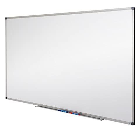 MOB Whiteboard - Sieger Preis-Leistung - 10 Größen wählbar - Magnetwand mit Alurahmen, magnetisch ( 100 x 200 cm )