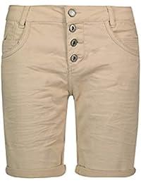 2cff00c6a6404e Urban Surface Damen Bermuda Shorts | Bequeme Kurze Stoffhose aus  Stretch-Twill - Loose Fit