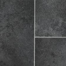 Black Tile Effect Vinyl Flooring- Kitchen Vinyl Floors-2 metres wide choose your own length in 1FT(foot) Lengths