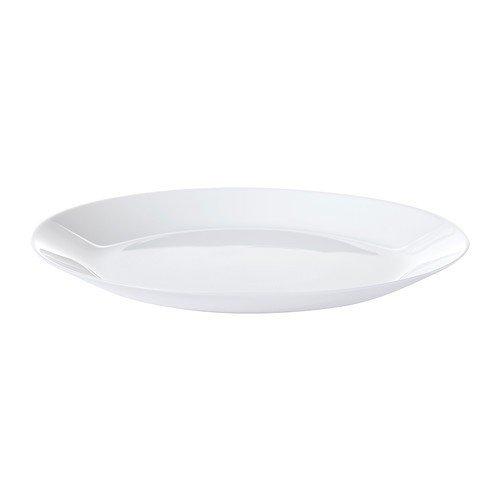 6 x IKEA OFTAST-Teller, 25 cm, weiß