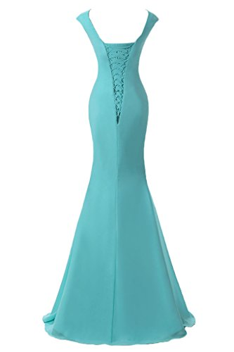 Victory Bridal - Robe - Crayon - Femme Bleu