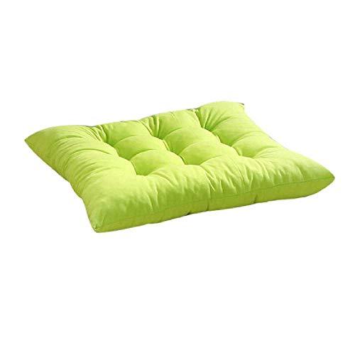 Runde Patio Kissen (DUNDUNGUOJI DUNDUNGUOJI Cushions Innengarten Patio Home Kitchen Bürostuhl Sitzmöbel Kissen für Reisesitzungen 40 * 40cm/Grüne)