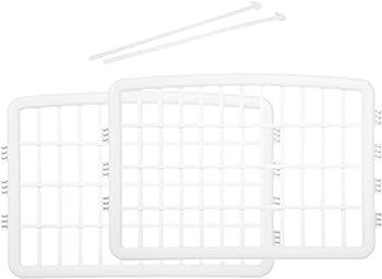 AmazonBasics - Extension 2 panneaux pour enclos en plastique, Blanc