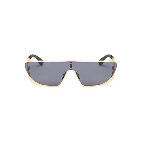 Thirteen Frauen Sonnenbrillen Mode Siamese Brillen Sport UV, Ideal Zum Autofahren Städtetouren Geeignet Für Dekoration, Sonnenschutz, Einkaufen, Reisen, Fahren. (Color : A)