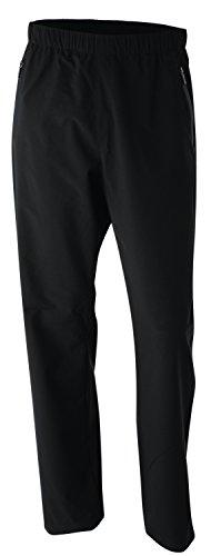 Wilson Regenanzug Hose für Golfer, Performance Trousers, Polyester, schwarz, Gr. L, WGA700268 Performance Golf Hosen