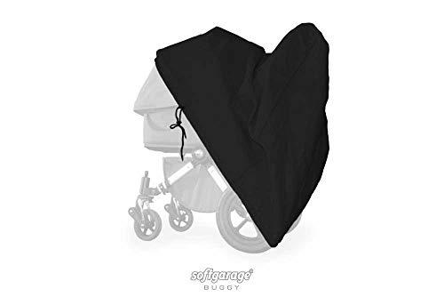 softgarage buggy softcush schwarz Abdeckung für Kinderwagen Herlag/Kettler Trento Regenschutz Regenverdeck Kinderwagenabdeckung