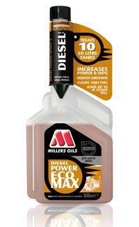 Millers Oils EcoMax Motorenöl, 500ml, erhöhte Leistungsfähigkeit,reinigt Einspritzventile, reduzier Verbrauch
