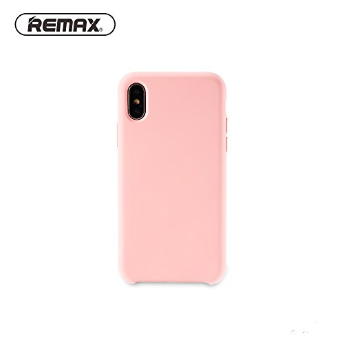 0 Remax Kellen Series Soft Feeling Super Thin TPU Matte Surface Back Cover case for Apple iPhone X/iPhone 10 / iPhone XS Pink -