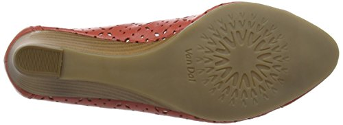 Van Dal Damen Grantham Geschlossene Sandalen mit Keilabsatz Orange (Coral)