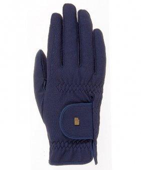 Roeckl Sports Roeck Grip Winter Handschuh, Unisex Reithandschuhe, Marine, 7,5