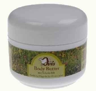 Zart duftende Body Butter mit Schafmilch und Malve, 250ml