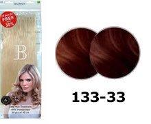 Balmain Fill-In Extensions Value Pack Natural Straight- 133/33, dark copper blond/light chestnut brown