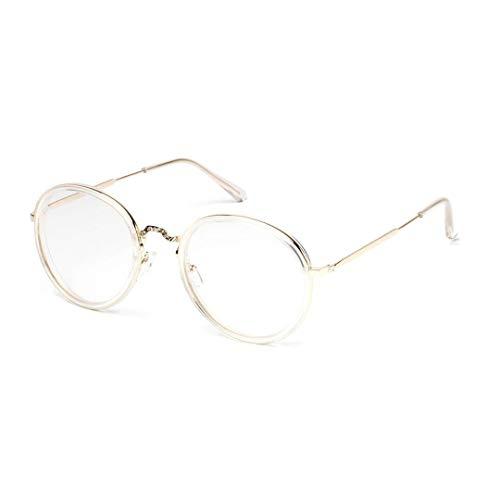 Lindan shangmao Mens dekorative Brillengestell Optiacl Gläser, klare Linse, Nerd Brille (Farbe : Leopard)