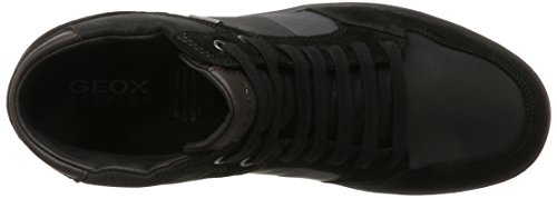Geox U Taiki B Abx A, Baskets Montantes Homme Noir (Black/anthracite)