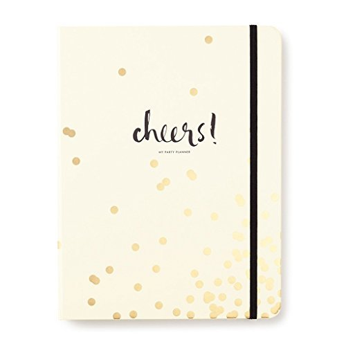 Kate Spade New York gold Confetti Dot Party Planung/Planer