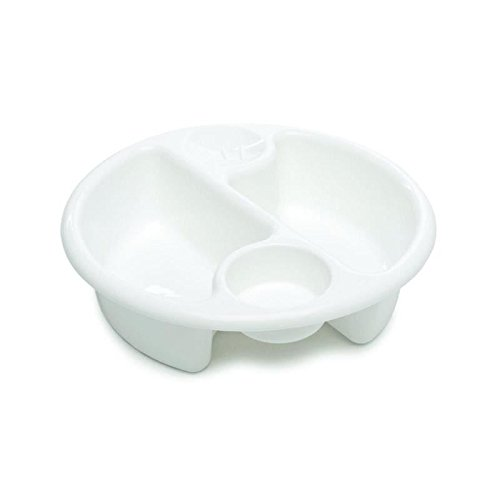 Neat Nursery Top 'n' Tail Circular Wash Bowl in White Test