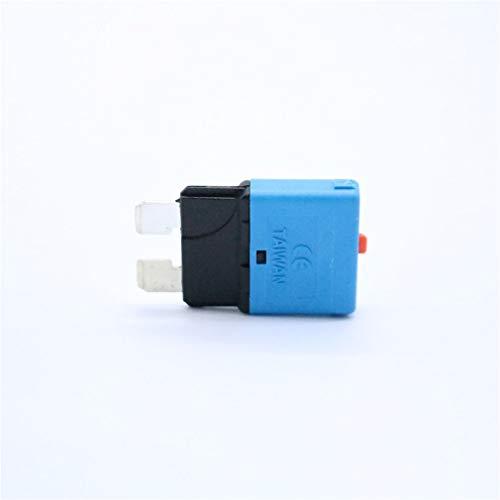 6 Tabletten 125 Tab (leoboone 15 Amp 28V DC Circuit Breaker Car Blade-Sicherungen Kfz Manual Reset Sicherung Auto Insurance Tablets Überlastungsschutzvorrichtung)