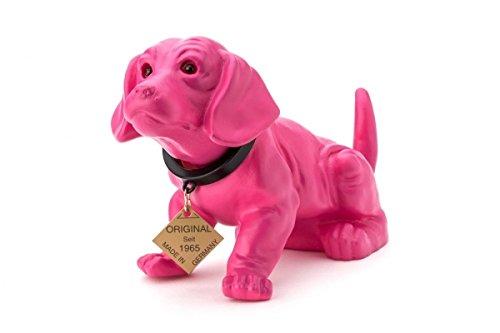 Preisvergleich Produktbild Wackeldackel lackiert klein pink 19 cm
