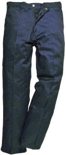 Portwest 2885NAR36 - Pantaloni da lavoro Preston, vita 91 cm, colore: Blu scuro