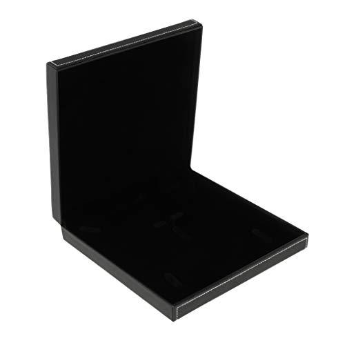 IPOTCH 1 Stück Schmuck-Geschenkbox Passend für Armband, Uhr, Halskette und Ketten - Schwarz Samt