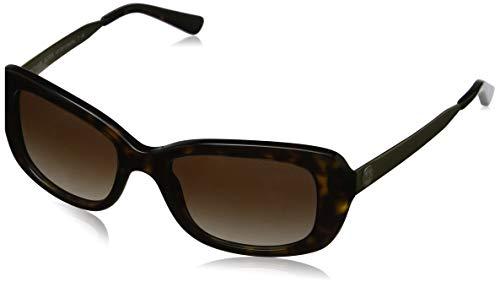 Michael Kors Damen SEVILLE 329313 51 Sonnenbrille, Dark Tortoise/Smokegradient,