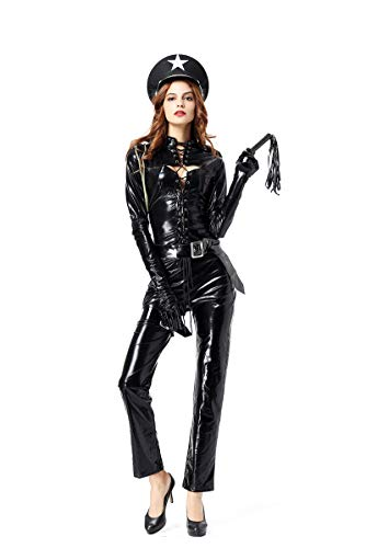 Sultry Swat Kostüm - Zooma Halloween Frauen Uniform Cosplay Kostüm Damen Performance Kleidung