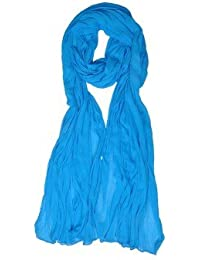 ROOLIUMS ® (Brand Factory Outlet) Women's Chiffon Dupatta (Pack Of 1) (Skyblue)