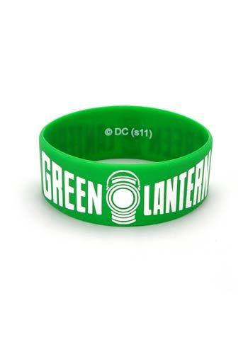 Green Lantern Logo Silikon Armband (grün)