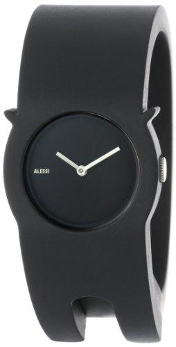 Alessi - AL24000 - Montre Mixte - Automatique - Analogique - Bracelet Plastique Noir