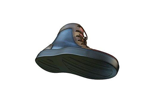 DIS - Gianmarco - Sneakers Hautes - Unisexe Multicolore