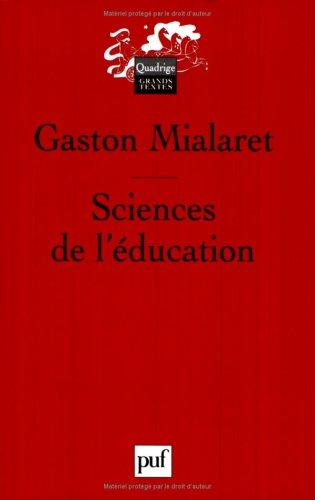 Sciences de l'éducation : Aspects historiques, Problèmes épistémologiques