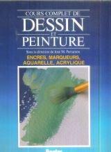 COURS COMPLET DE DESSIN ET PEINTURE VOLUME 4 : ENC...