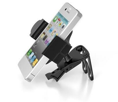 De haute qualité d'air Turbulences Support voiture/berceau/Support pour Samsung avec rotation 360degrés. Convient pour tous les smartphones Y Compris iPhone 6et Samsung Galaxy.