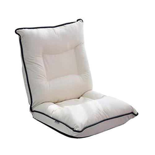 MDBLYJ Lazy Sofa, Stuhl Gürtel Taille Single Sofa Bett kreativen Klappstuhl Bay Fenstersessel,