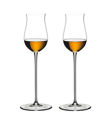 RIEDEL Spirituosenglas-Set, 2-teilig, Für edle Brände wie Cognac oder Armagnac, 152 ml, Kristallglas, RIEDEL Veritas, 6449/71