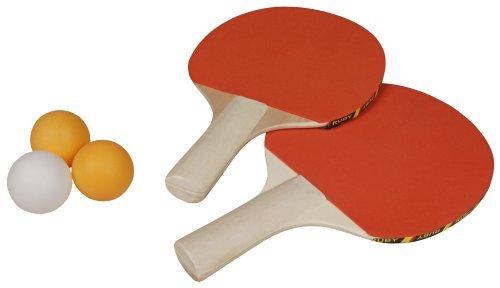 Tischtennis-Set. 2 Schläger und 3 Bälle