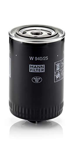 Original MANN-FILTER Ölfilter W 940/25 - Für PKW und Nutzfahrzeuge