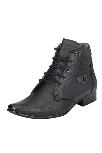 Real Blue Men's Black Boots -10