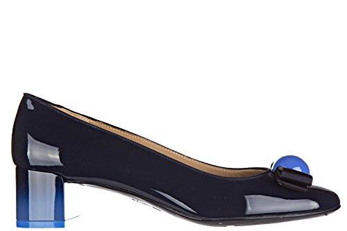salvatore-ferragamo-escarpins-chaussures-femme-a-talon-en-cuir-fiocco-blu-eu-35-01l524-645328