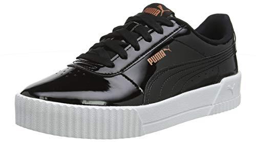 Puma Damen Carina P Sneaker, Schwarz (Puma Black-Puma Black),  37 EU (4 UK)