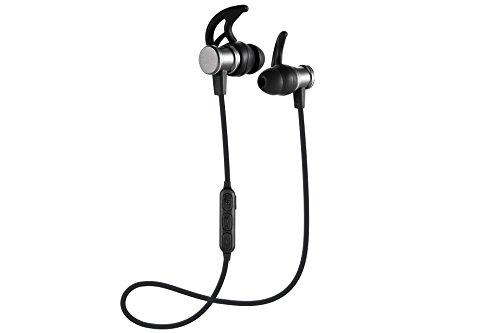 Bluetooth Kopfhörer, Divinio Slim Leichte Magnet Kabelloser Sport Kopfhörer mit Mikrofon für Laufen, Radfahren, Fitnessstudio, Fitness, Reisen und mehr
