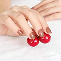 FARMERLY 2018 24pcs short paragraph new cute candy color hot buy fake fingernails complete 22 color Can choose: SN367