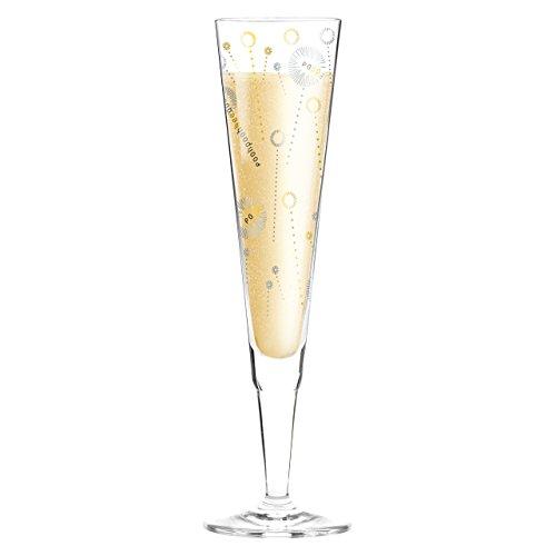 1070224 Design Champagnerglas, Sektglas mit Stoffserviette, Ulrike Klaus, Herbst 2015