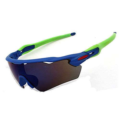 EDSWXT Schutzbrillen Fahrrad-Sport-Sonnenbrille Polarisierte Reitbrillen-Männer-Sport-Schutzbrille, 8
