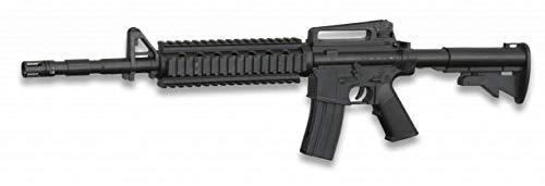 Albainox 38228 Arma Airsoft, Unisex Adulto, Negro, 60.4 x 15.5 cm