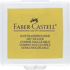 Knetgummi Radierer, Faber Castell (1, gelb)